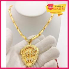Dây bạc Thái mạ vàng + tặng mặt (y hình)
