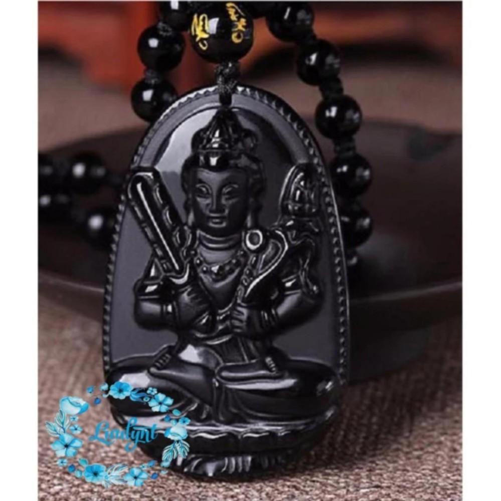 Dây chuyền Phật Hư Không Tạng Bồ Tát cao cấp – Phật bản mệnh người tuổi Sửu, Dần