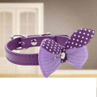 Dog Cat Puppy Pet Fabric Bowknot PU Leather AdjustableCollarNecklace Neck Lace purple - intl - 8606046 , OE680OTAA8K4PTVNAMZ-16638963 , 224_OE680OTAA8K4PTVNAMZ-16638963 , 361620 , Dog-Cat-Puppy-Pet-Fabric-Bowknot-PU-Leather-AdjustableCollarNecklace-Neck-Lace-purple-intl-224_OE680OTAA8K4PTVNAMZ-16638963 , lazada.vn , Dog Cat Puppy Pet Fabric Bo