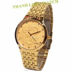 Đồng hồ nam dây thép không gỉ chạm rồng BAISHUNS TLONG8811