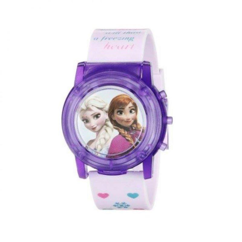 Đồng hồ bé gái dây nhựa Flashing Musical Watch Disney Frozen (Nhạc và đèn) bán chạy