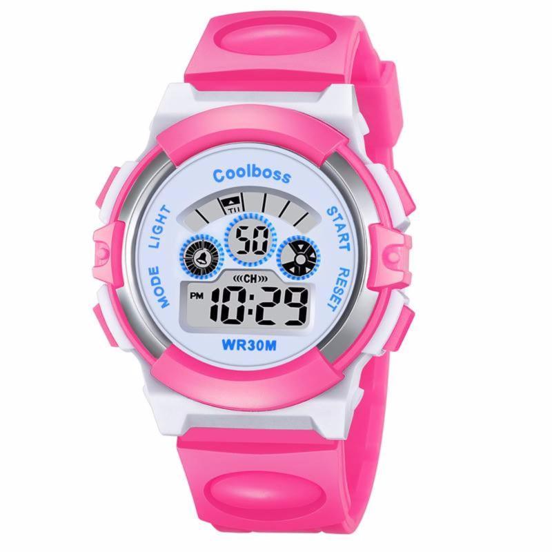Đồng hồ bé gái màu hồng (Tặng 1 pin) bán chạy
