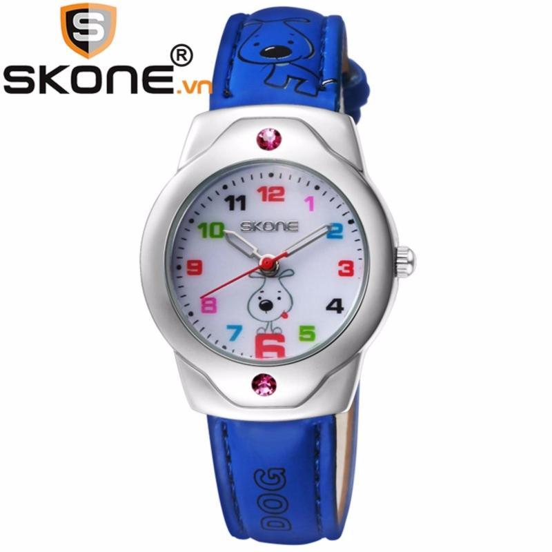 Đồng hồ bé gái SKONE - dây da 3149-1 bán chạy