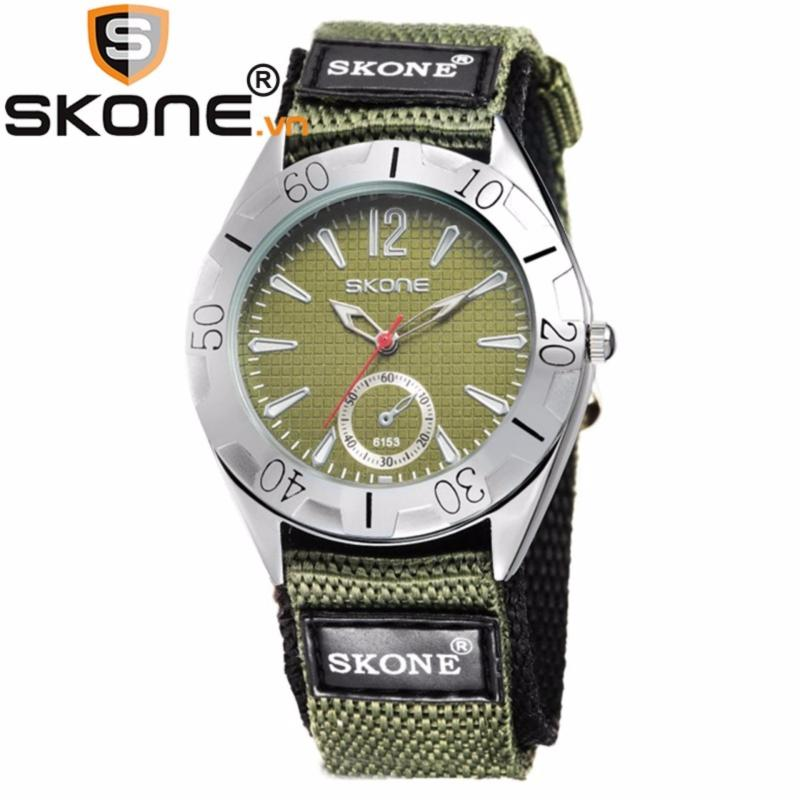 Nơi bán Đồng hồ bé trai hãng SKONE, máy Quarzt Nhật, dây dù 6153-man