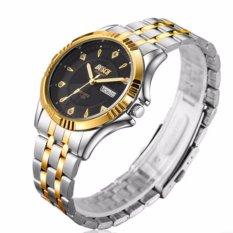 Đồng hồ Bosck demi 2 lịch (Đen)