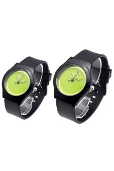 Đồng hồ cặp dây cao su C89 – 120