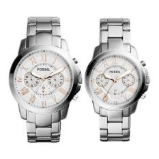 Đồng hồ Cặp dây kim loại Fossil FS5187SET