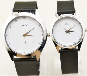 Đồng hồ cặp kiểu số nhí dây nhựa JW