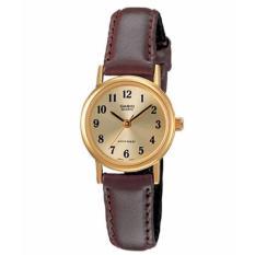 Đồng hồ nữ dây da CASIO LTP-1095Q-9B1 (Nâu)