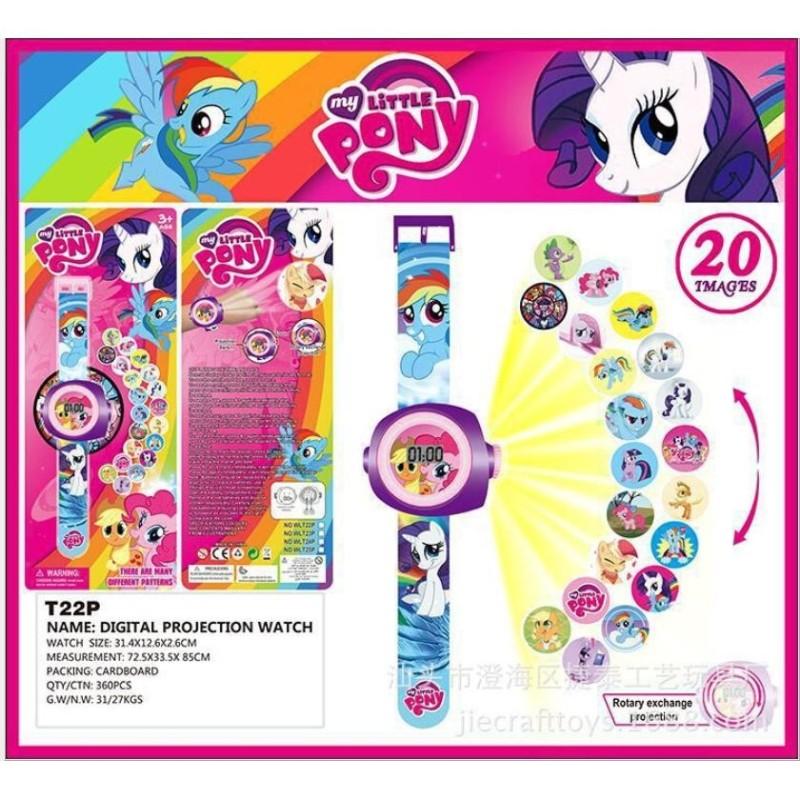 Đồng hồ chiếu  20 hình Little Pony đáng yêu bán chạy