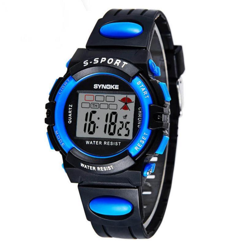 Đồng hồ cho bé synoke 99268 (Xanh) bán chạy