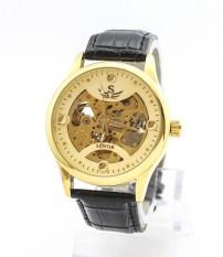 Đồng hồ CƠ nam dây da thời trang cao cấp SEWOR SLSE1682