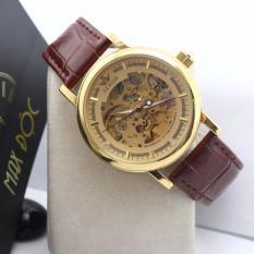 Đồng hồ cơ nam lộ máy dây da SEWOR SE2003