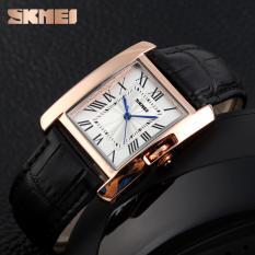 Đồng hồ dây da cao cấp Skmei 1085 (3 màu)