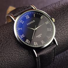 Đồng hồ dây da nam Yazole 278 tinh tế
