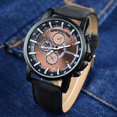 Đồng hồ dây da nam Yazole 322 phong cách thám hiểm