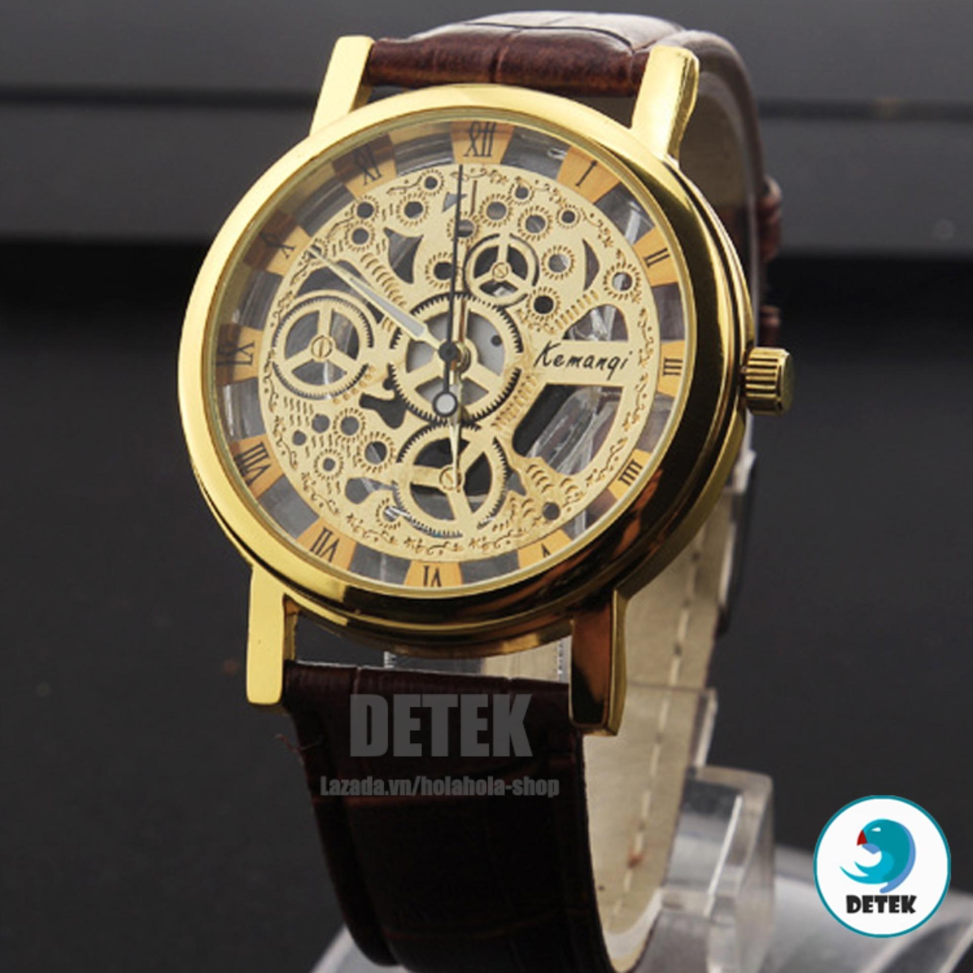 Đồng hồ dây da thời trang Luxury L2