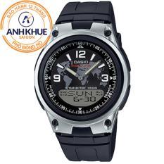 Đồng hồ dây nhựa Casio Anh Khuê AW-80-1A2VDF
