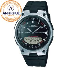 Đồng hồ dây nhựa Casio Anh Khuê AW-80-1AVDF