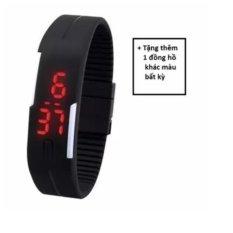 Đồng hồ dây nhựa dẻo Sport LED + tặng một đồng hồ khác màu bất kỳ
