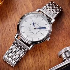 Đồng hồ nam dây thép không gỉ Yazole 305 phong cách