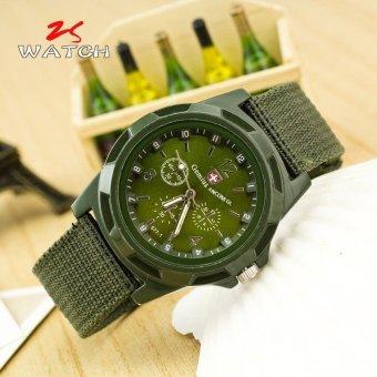Đồng hồ dây vải thể thao ANCOM GL (Xanh Rêu)