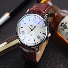 Đồng hồ đeo tay nam dây da Jazole MD044_BRWH7602