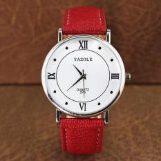 Đồng hồ đeo tay nam dây da Yazole AL040_RDWH6498