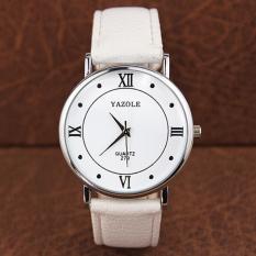 Đồng hồ đeo tay nam dây da Yazole AL040_WHWH6498