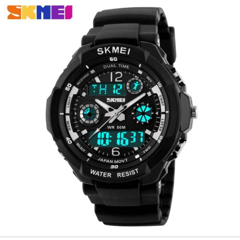 Nơi bán Đồng hồ đeo tay thể thao Skmei 0931 đồng hồ đeo tay chống thấm nước (WHITE)