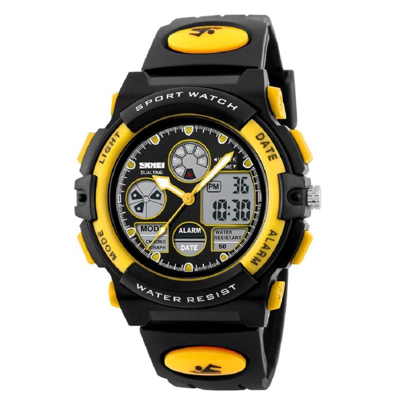 Nơi bán Đồng hồ điện tử bé trai SKMEI 094TSGSK (Vàng).