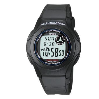 Đồng hồ điện tử Casio F-200W-1A (Đen)