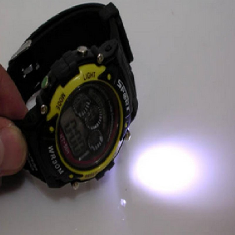 Nơi bán Đồng hồ điện tử NT-1811 phát sáng đèn pin ( Màu ngẫu nhiên )