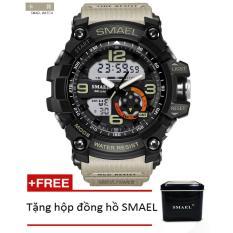 Đồng hồ điện tử thể thao nam SMAEL dây Silicon PKHRSM005