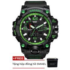 Đồng hồ điện tử thể thao nam SMAEL dây Silicon PKHRSM006