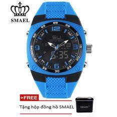 Đồng hồ điện tử thể thao nam SMAEL dây Silicon PKHRSM007
