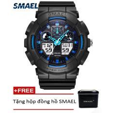 Đồng hồ điện tử thể thao nam SMAEL dây Silicon PKHRSM009