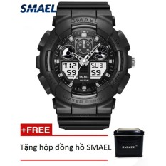 Mẫu sản phẩm Đồng hồ điện tử thể thao nam SMAEL dây Silicon PKHRSM009
