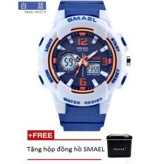 Bảng Báo Giá Đồng hồ điện tử thể thao unisex (nam – nữ) SMAEL dây Silicon PKHRSM008 – Sắc màu rực rỡ