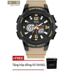 Đồng hồ điện tử thể thao unisex (nam – nữ) SMAEL dây Silicon PKHRSM008 – Sắc màu rực rỡ