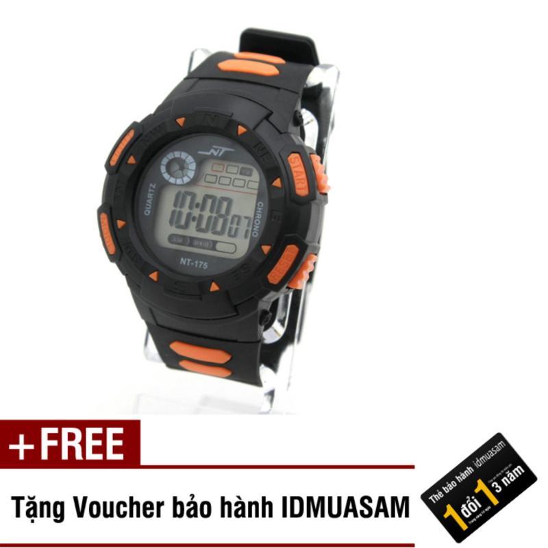 Đồng hồ điện tử trẻ em IDMUASAM 7903 (Cam) + Tặng kèm voucher bảo hành IDMUASAM bán chạy