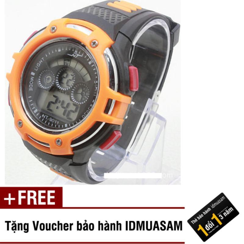 Nơi bán Đồng hồ điện tử trẻ em IDMUASAM 7921 (Cam) + Tặng kèm voucher bảo hành IDMUASAM