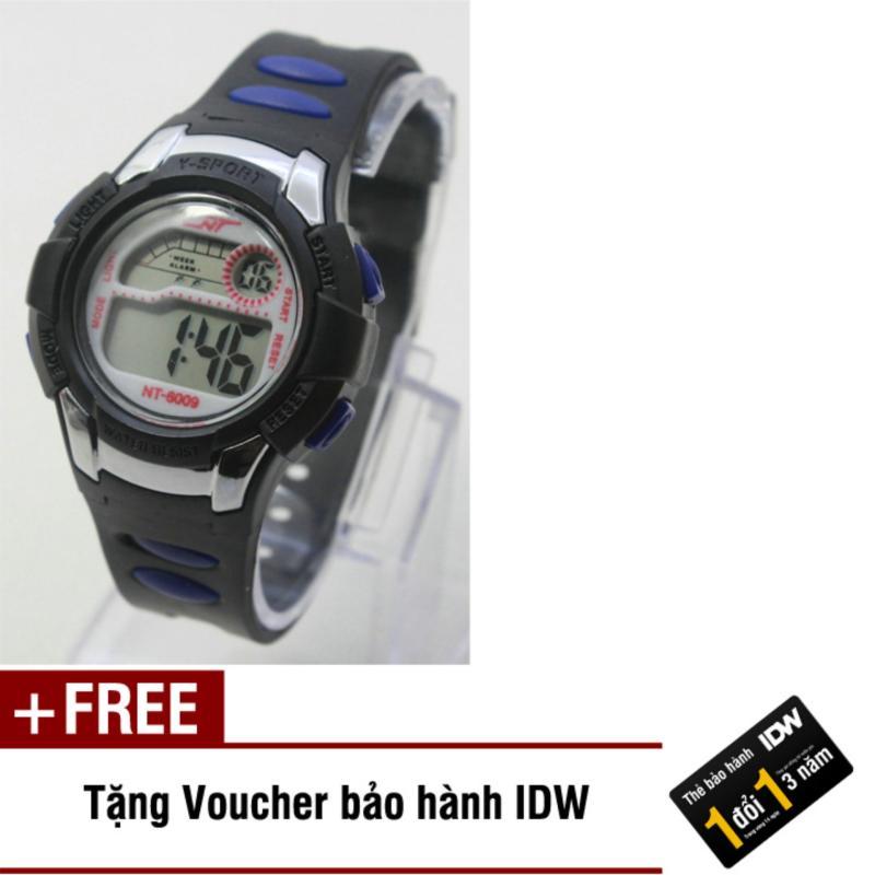 Đồng hồ điện tử trẻ em IDW 7918 (Đen) + Tặng kèm voucher bảo hành IDW bán chạy
