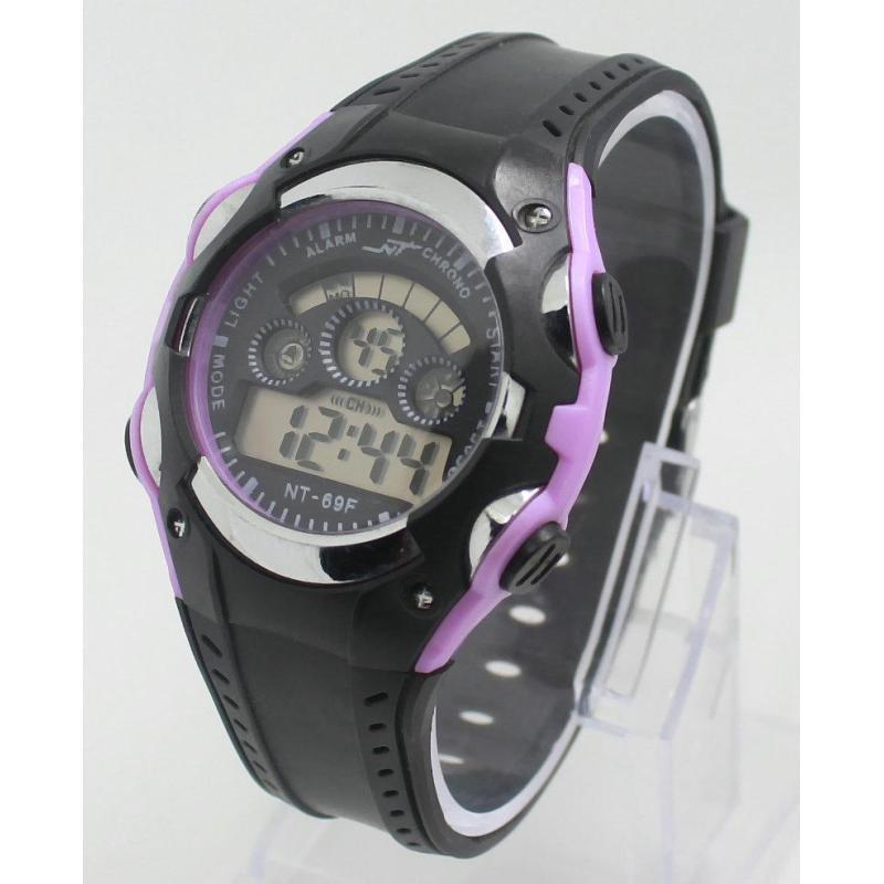 Đồng hồ điện tử trẻ em IDW 7947 (Tím) bán chạy
