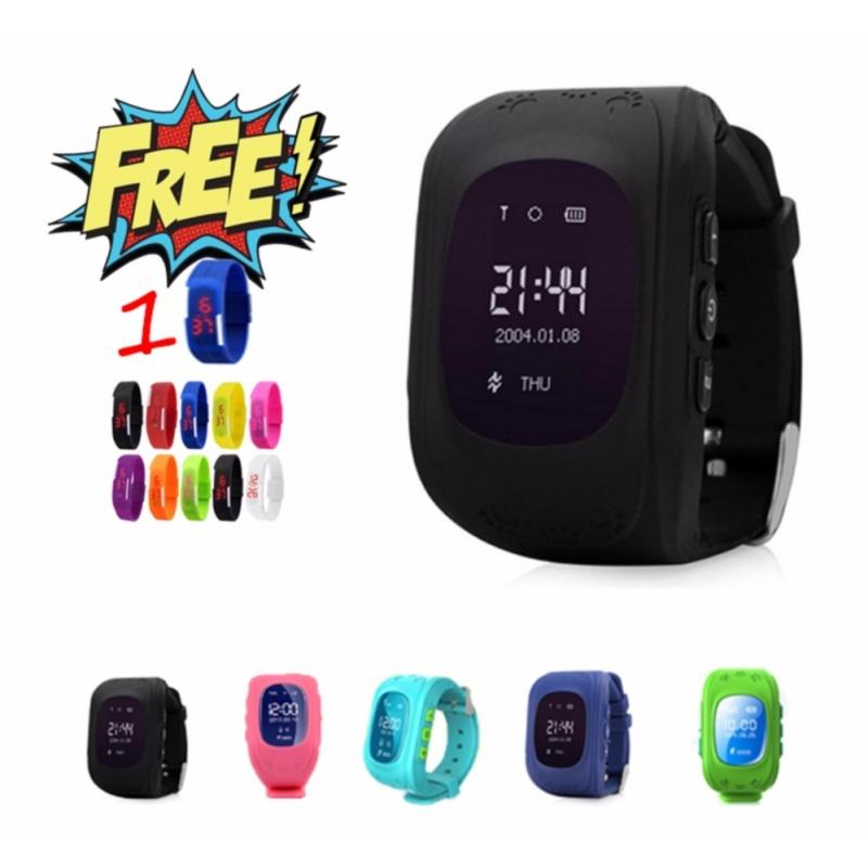 Đồng hồ định vị trẻ em SmartWatch Q50 + tặng 1 đồng hồ dây led bán chạy