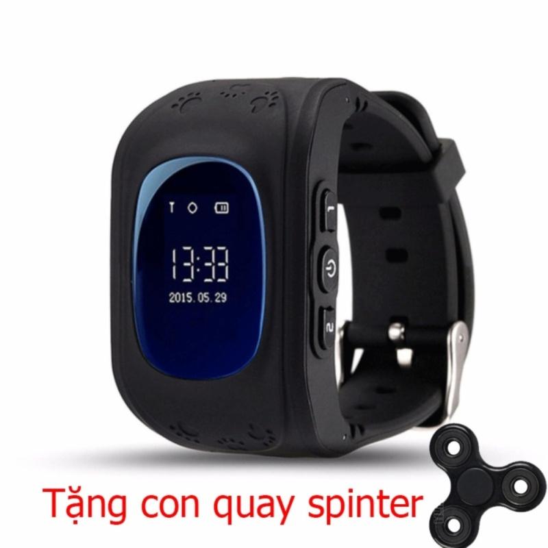 Đồng hồ định vị trẻ em thông minh Q50 +Tặng con quay spinner bán chạy