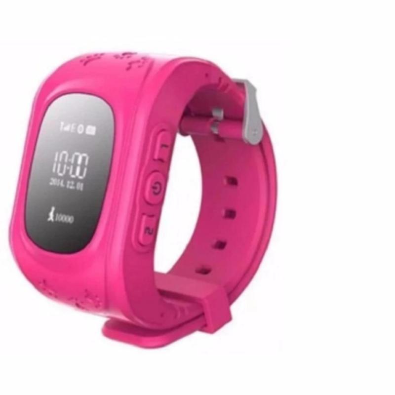 Đồng hồ định vị và giám sát trẻ em thông minh - SMARTWATCH (Hồng) bán chạy