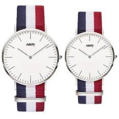 Đồng hồ đôi dây vải Nary D3M002