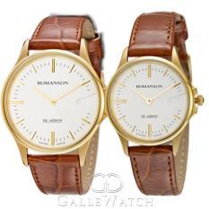 Đồng hồ đôi Romanson CL5A11MGWH + CL5A11LGWH