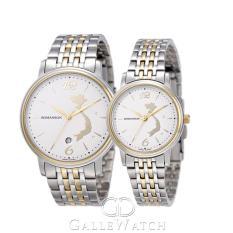 Đồng hồ đôi Romanson Special Edition 2015 TM4259SMCWH + TM4259SLCWH